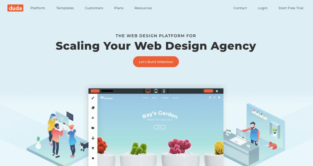 duda-website-builder