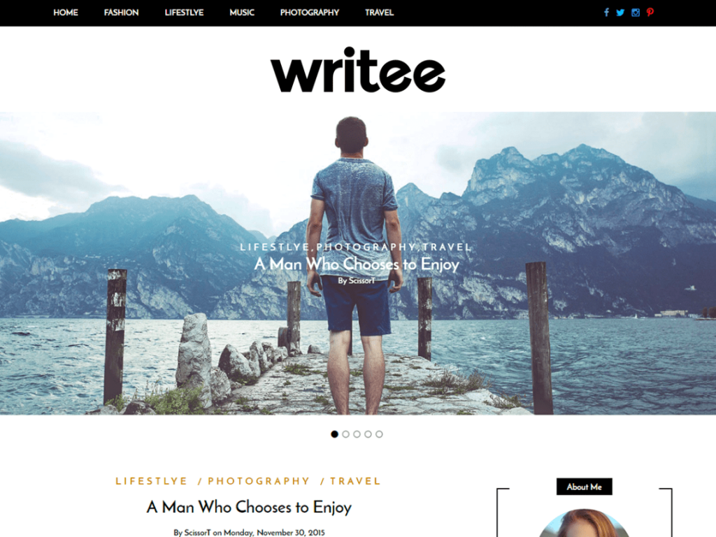 WP-blog-theme