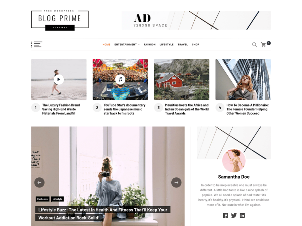 blogging-template